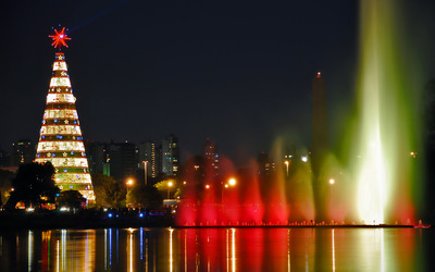 Ibirapuera Park Christmas