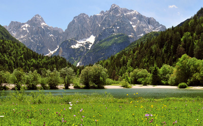 Julian Alps with Prisank