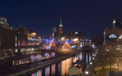 Rideau Canal Christmas