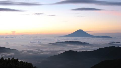 Mt.Fuji from Kitadake, WQHD (2560x1440)