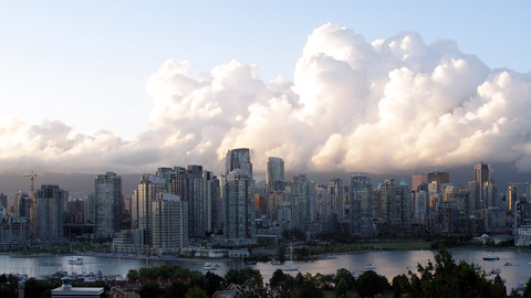 Vancouver Clouds, WQHD (2560x1440)