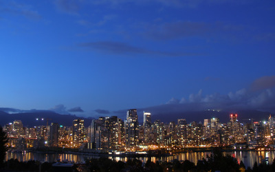 Vancouver evening