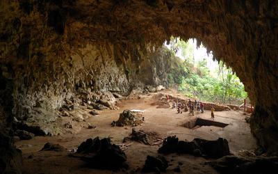floresiensis cave