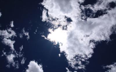 sky of Qinghai