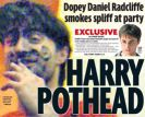 HARRY POTHEAD Copyright (c) The Daily Mirror
