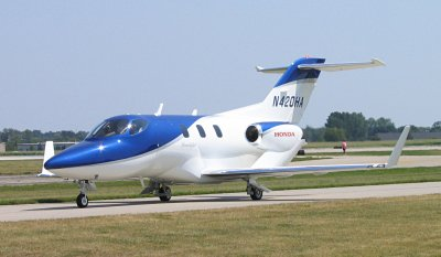 HondaJet. Copyright (c) Michael Pereckas. This file is licensed under CC-BY 2.0 license.